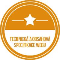 Technická a obsahová specifikace webu